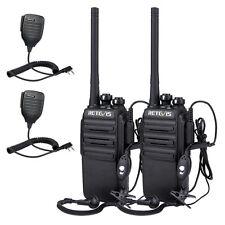Retevis RT24 PMR-Funkgeräte 0.5W UHF VOX Lizenzfreies Walkie Talkie+Lautsprecher
