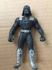 Star Wars Vintage Mexico Darth Vader Silver Potf Rare Variant Scarce Bootleg