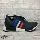 Adidas NMD R1 Primeknit US Tri-Color PK BB2887 BLACK 6.5-13