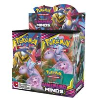 ל8324Pcs/box Pokemon TCG: Sun & Moon Unified Minds Booster Box, Multi Collectibl