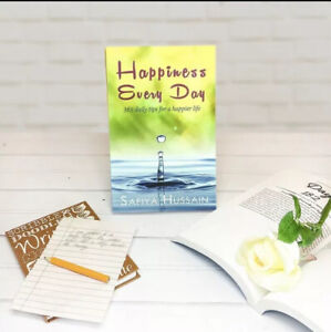 Happiness Every Day Book by Safiya Hussain - Islamic Gift Muslims - Bestseller