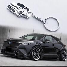 Cool 3D Car Model Keychain Key Chain Ring Keyring Gift For Toyota CHR C-HR Hot