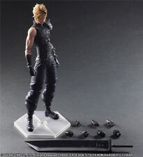 Play Arts Final Fantasy VII Remake Cloud Strife Action Figure in Box
