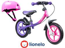 """First Bike Running Balance Bike Pink 12"""" for children + helmet NEW Orginal Box"""