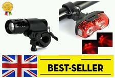 front rear lights set - very bright red led mountain road bike cycling- UK STOCK