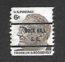 THE ROCK HILL, S.C. SIX cENT COIL SCOTT # 1305-71!!!!