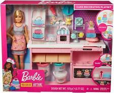 Barbie poupee et sa Patisserie Deco de gateaux 3 Pate a modeler Accessoire