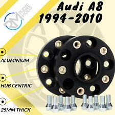 H/&R Separadores de Rueda 50mm Hubcentric Perno en Audi A8 1994-2010