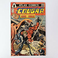 The Cougar #2 Bronze Age Atlas Comics Gary Friedrich F/VF