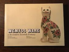 Wemyss Ware A Decorative Scottish Pottery - 1986 Hardback Book 1st Edition