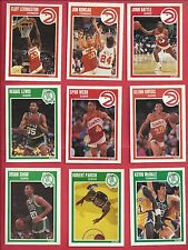 1989-90 Fleer basketball you pick 12 picks $2.00 nm to mint
