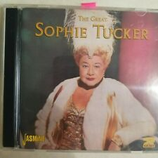 THE GREAT SOPHIE TUCKER, 2 CD set, *Mint*