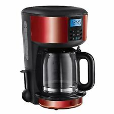 RUSSELL HOBBS 20682 FILTER COFFEE MACHINE, RED