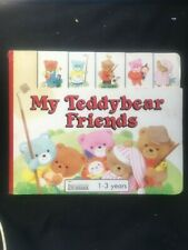 My Tebbybear Friends by Ann & Mike Ricketts (1991, Hardcover)