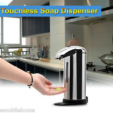 AD 500ml Stainless Steel Automatic Soap Dispenser Touchless Sanitizer Dispenser