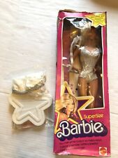 Vintage Mattel Barbie Doll 👩🏼 Super Size Doll No 9828 - Heavy Box Wear 1978