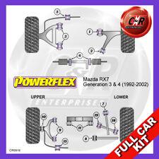 Mazda RX-7 Generation 3 & 4 (92-02)  Powerflex Complete Bush Kit