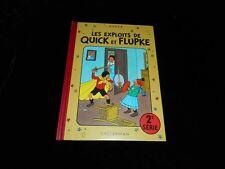 Hergé : Les exploits de Quick et Flupke 2°série Editions Moulinsart / Casterman