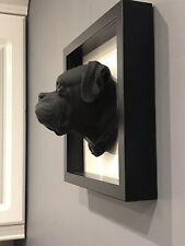 More details for boxer dog picture frame 3d art gift