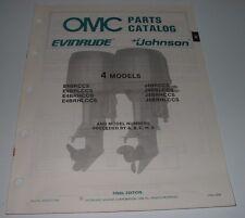 Auto & Verkehr Parts Catalog Evinrude Johnson 25 Hp Commercial Models Ersatzteilkatalog 1978!