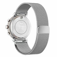 Asus Zenwatch 3 Band Replacement Woven Milanese Stainless Steel Strap Silver