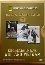 National Geographic - Chronicles Of War - WWII And Vietnam DVD, 2006, 3-Disc.