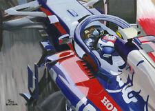Card 2018 Toro Rosso Honda STR13 #10 Pierre Gasly (FRA) by Toon Nagtegaal (OE)
