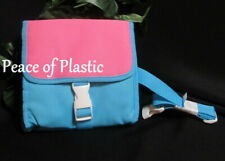 Tupperware~ New~ Picture Perfect Lunch Bag Girls Pink and Blue