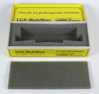LUX Modellbau LEERKARTON 8811 Gleisstaubsauger Leerverpackung OVP empty box H0