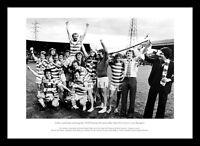 Celtic FC 1979 League Champions Team Celebrations Photo Memorabilia (064)