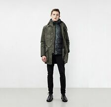 Mens Parka London Otto 3 in 1 Parka With Quilted Jacket Large