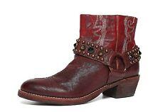 aae15b03c Sam Edelman  Skyler  Red Western Ankle Boots Size 6 ...