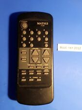 ORIGINAL MATSUI 14 OR TV REMOTE CONTROL