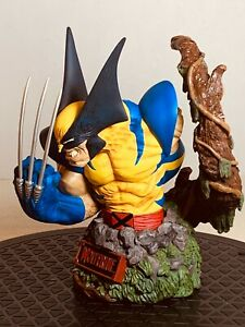 WOLVERINE Bust~ART ASYLUM / DIAMOND SELECT~ Signed/Numbered COA~ AWESOME BUST