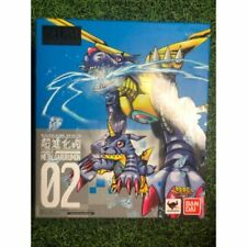 Bandai 2018 Diecast 02 Digimon Monster MetalGarurumon Digivolve Action Figure