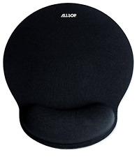 Allsop Mouse Pad, Pro Mouse Pad, Black Mouse Pad, Memory Foam Mouse Pad