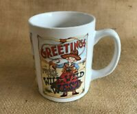 1 Coffee Mug Cup Greetings from the Wild Wild West Mary Engelbreit Collectible