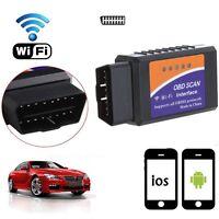 ELM327 WIFI OBD V1.5 OBD2 Petrol Diesel Car Diagnostic Scanner Scan Code Tool