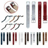 Genuine Leather Wrist Band Strap Bracelet For Fitbit Alta/Alta HR Replacement