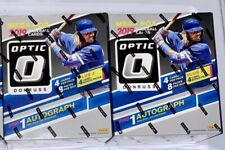 LOT (2):  2019 Panini Donruss Optic Baseball Cards - 8 pack Mega Box - sealed 😳