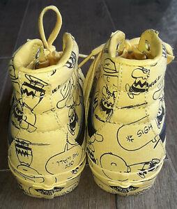 Peanuts Vans Gelb Size 37,0 SK8-HI