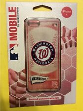 Washington Nationals (NATS) Iphone 5/5s Hardshell Cover Case by Pangea