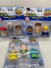 Disney Pixar Toy Story 4 Finger Puppets Complete Set