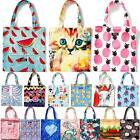 Women Large Capacity Print Canvas Handbag Shopping Purse Tote Shoulder Beach Bag
