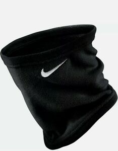 Nike Unisex Therma Fleece Running Neck Face Warmer Black/White One Size