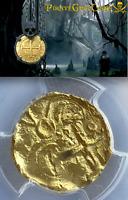 1715 FLEET COLOMBIA 2 ESCUDOS PCGS PIRATE GOLD COINS SHIPWRECK TREASURE
