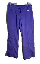 Grey's Anatomy Womens Active Scrubs Yoga Knit Pants Purple Size MP