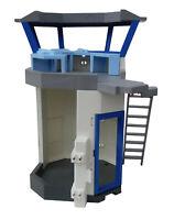 Playmobil 6919 Polizeistation Turm Polizei Leiter Computer Neu
