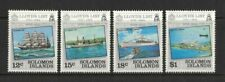 1984 Solomon Islands Stamps Lloyd's List SG 519/22 MUH Set 4