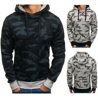 Men's Outwear Sweater Winter Hoodie Warm Coat Jacket Hooded Pullover Sweatshirt